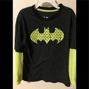 🍭Batman Long Sleeve Shirt Boy size 6-7
